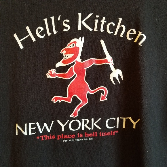 Delta Other - Hell's Kitchen double sided T size Large